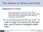 the nature of stress and crisis1