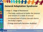 general adaptation syndrome1