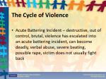 the cycle of violence1