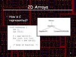 2d arrays1