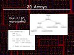 2d arrays2