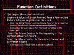 function definitions1