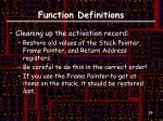 function definitions2