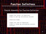 function definitions3