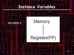 instance variables2