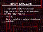 return statements1