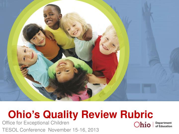 ohio s quality review rubric n.