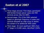 easton et al 2007