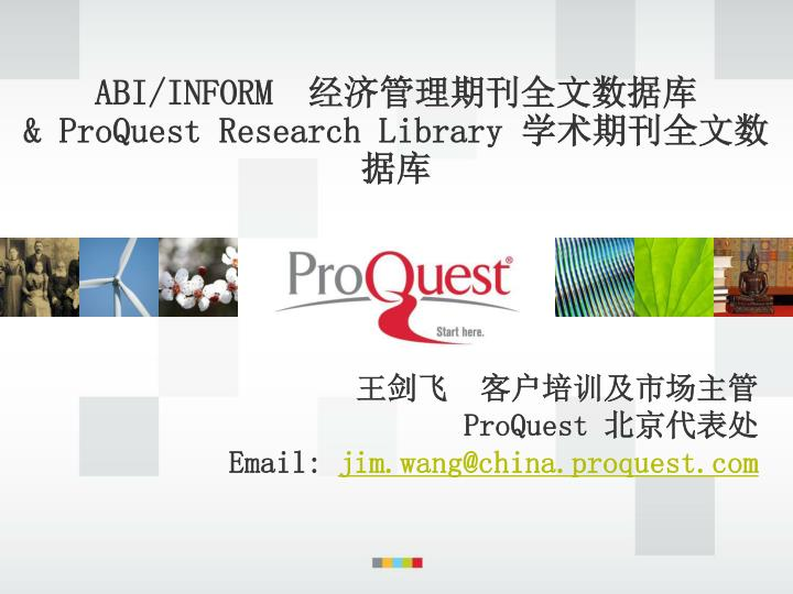 abi inform proquest research library n.