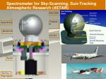 spectrometer for sky scanning sun tracking atmospheric research 4star