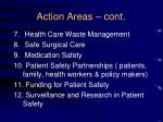 action areas cont