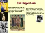 the flapper look