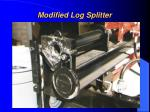 modified log splitter1