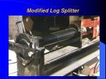 modified log splitter2