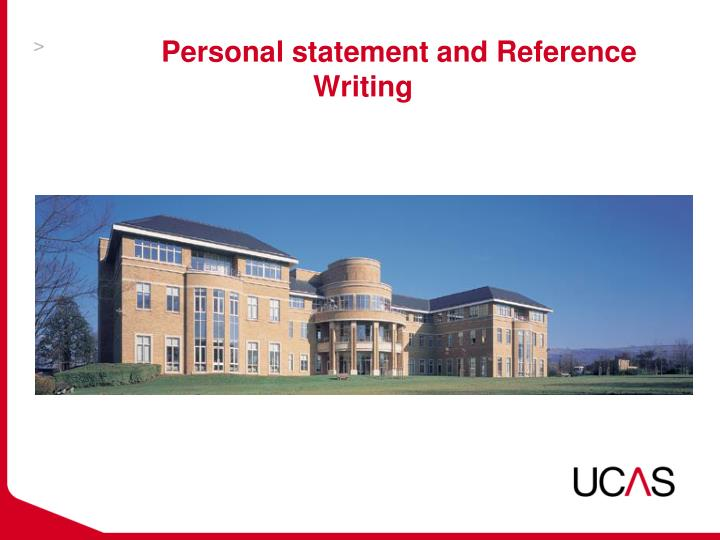 personal statement and reference writing n.
