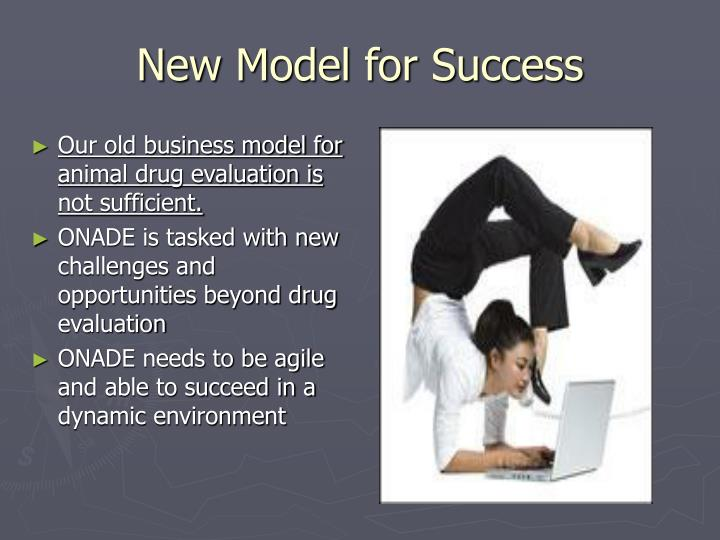 New model for success