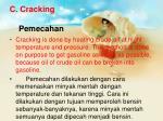 c cracking pemecahan