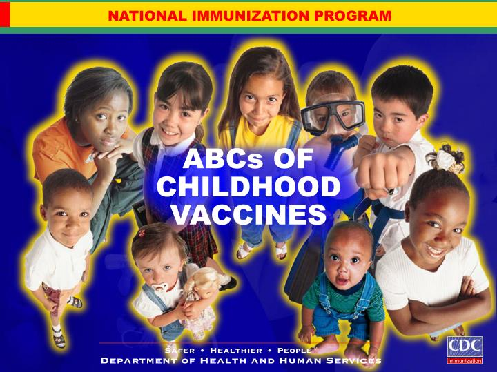 abcs of childhood vaccines n.