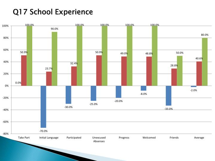 Q17 School Experience