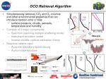 oco retrieval algorithm