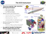 the oco instrument