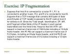 exercise ip fragmentation