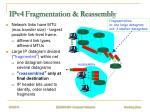 ipv4 fragmentation reassembly