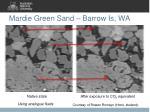 mardie green sand barrow is wa
