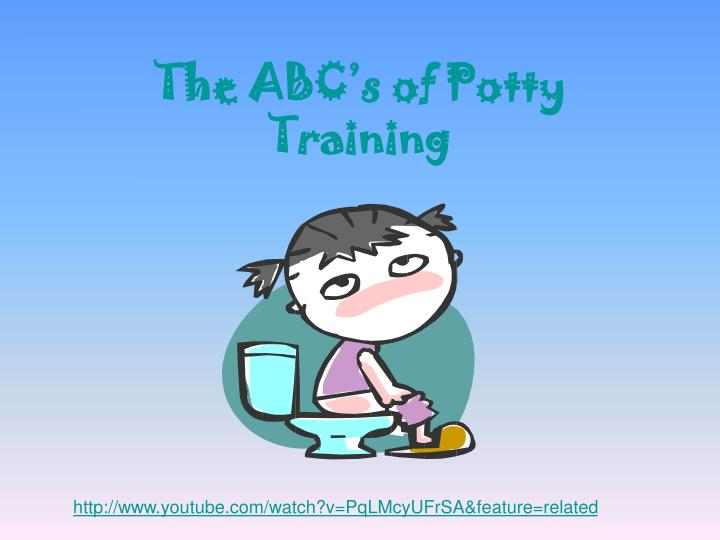 the abc s of potty training n.