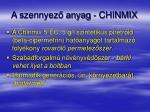 a szennyez anyag chinmix