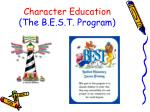 character education the b e s t program