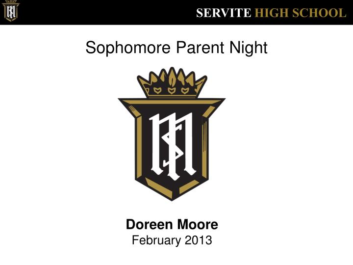 sophomore parent night n.