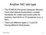 another nic slot type