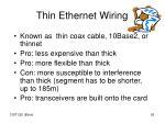 thin ethernet wiring