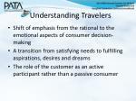 understanding travelers