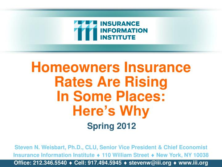 homeowners insurance rates are rising in some places here s why n.