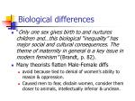 biological differences1
