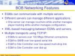 bob networking features