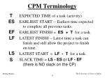 cpm terminology