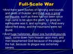 full scale war