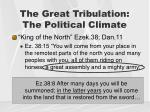 the great tribulation the political climate1