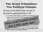 the great tribulation the political climate2