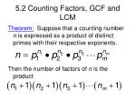 5 2 counting factors gcf and lcm