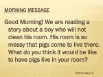 morning message8