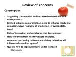 review of concerns1