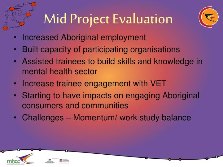 Mid Project Evaluation
