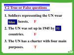 c2 true or false questions