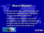 what is unedocs
