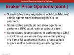 broker price opinions cont