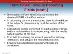 form 1004c unique reporting fields cont4
